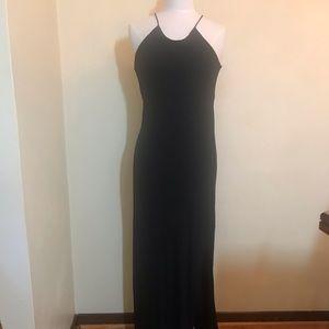 Theory sleeveless maxi dress